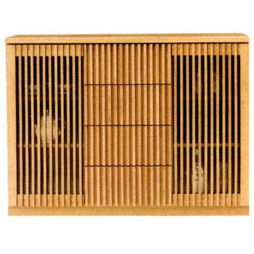 送料無料 開梱設置サイドボード キャビネット 完成品国産 飾り棚 120cm幅
