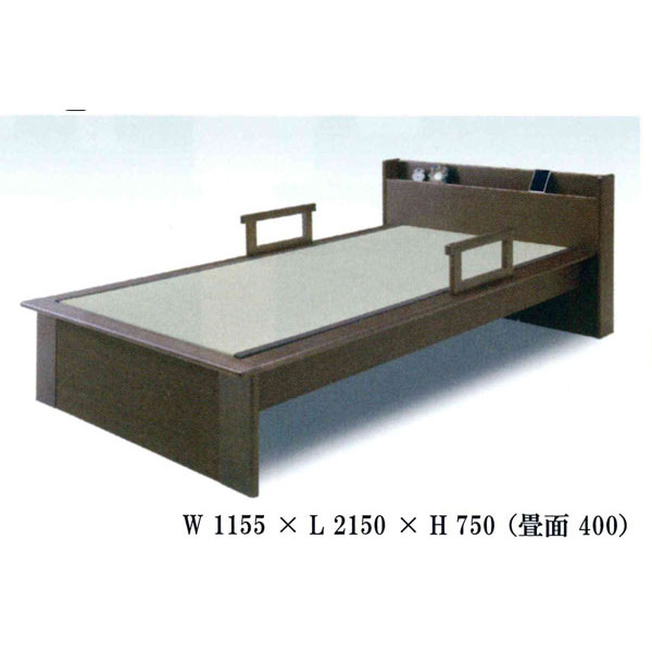 畳ベッド 宮付タイプカラー対応2色「立花」組み立てします 送料無料 開梱設置