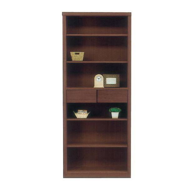 \ポイント増量&お得クーポン/送料無料 開梱設置本棚 書棚 フリーボードブックシェルフ 国産 完成品 75cm幅