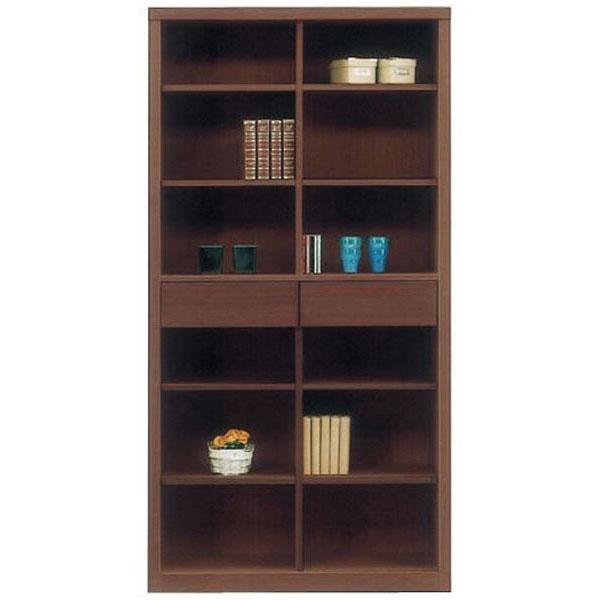 送料無料 開梱設置本棚 書棚 フリーボードブックシェルフ 国産完成品 90cm幅