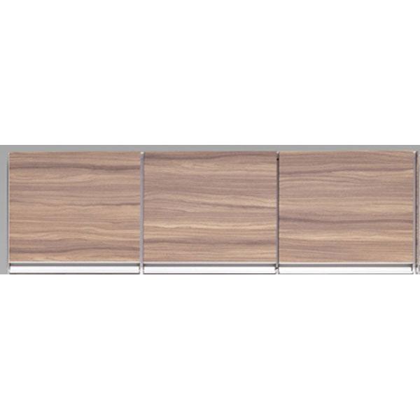 \ポイント増量&お得クーポン/受注生産品 食器棚上置き 開き戸完成品 120cm幅 「プリエ」送料無料 開梱設置 高さオーダー