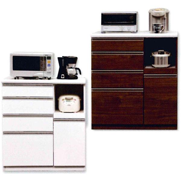 キッチンカウンター 完成品 90cm幅 「セイント」開梱設置 送料無料