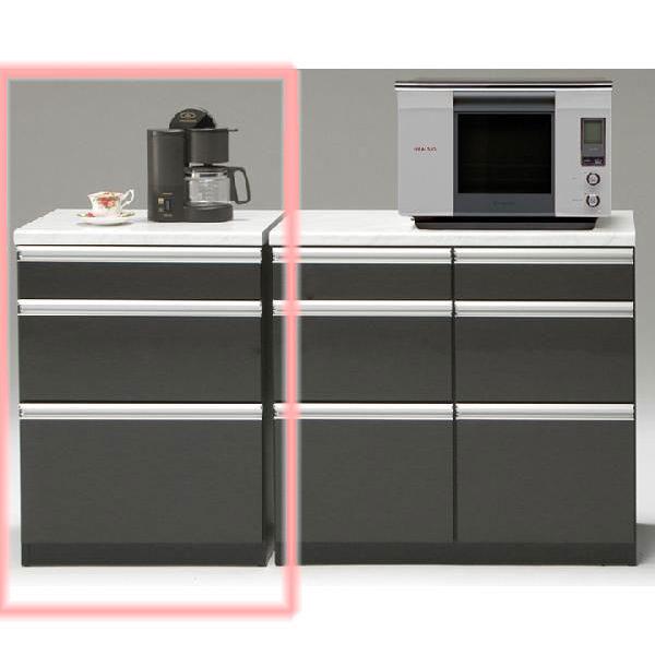 カウンター キッチンカウンター60cm幅 「トパーズ」 送料無料 開梱設置