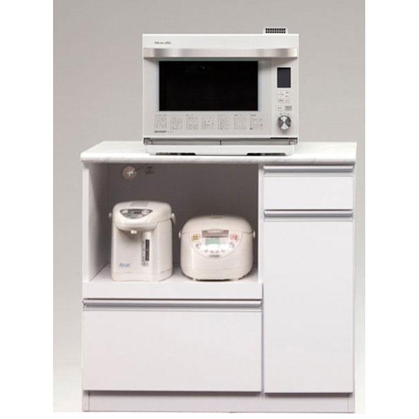 【ポイント増量&お得クーポン】 カウンター キッチンカウンター 完成品90cm幅 「カラー」オープンタイプ 開梱設置 送料無料