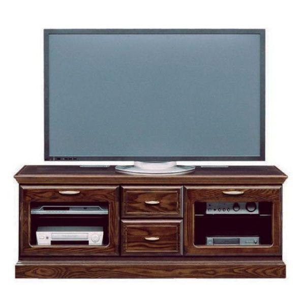 \ポイント増量&お得クーポン/テレビボード TVボード ローボード 完成品 146cm幅 「バーボン」開梱設置 送料無料