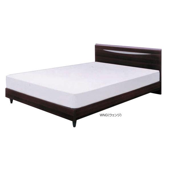 シングルベッド フレームのみ「フロロ2」 床板布張り 送料無料