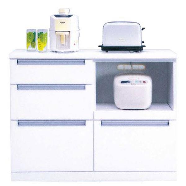 キッチンカウンター「レイン」 105cm幅 開梱設置送料無料