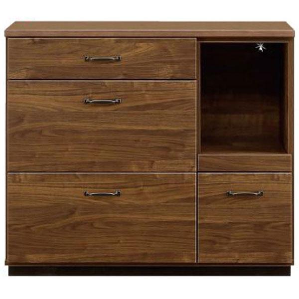 キッチンカウンター「レトロ」 105cm幅開梱設置 送料無料