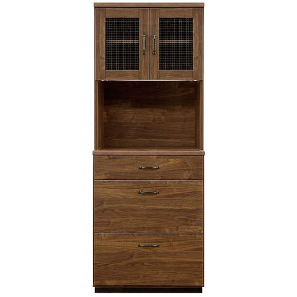 \ポイント増量&お得クーポン/ レンジボード オープン食器棚「レトロ」 70cm幅開梱設置 送料無料