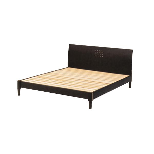 ダブルベッド フレームのみ「ヴィッツ」 すのこ床板 3色対応 送料無料