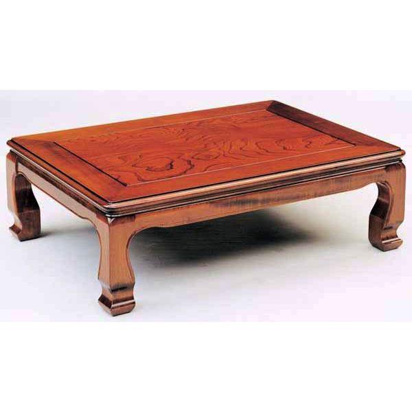 【ポイント増量&得々クーポン♪】 ケヤキ テーブル 座卓「天草」 90cm幅 国産送料無料