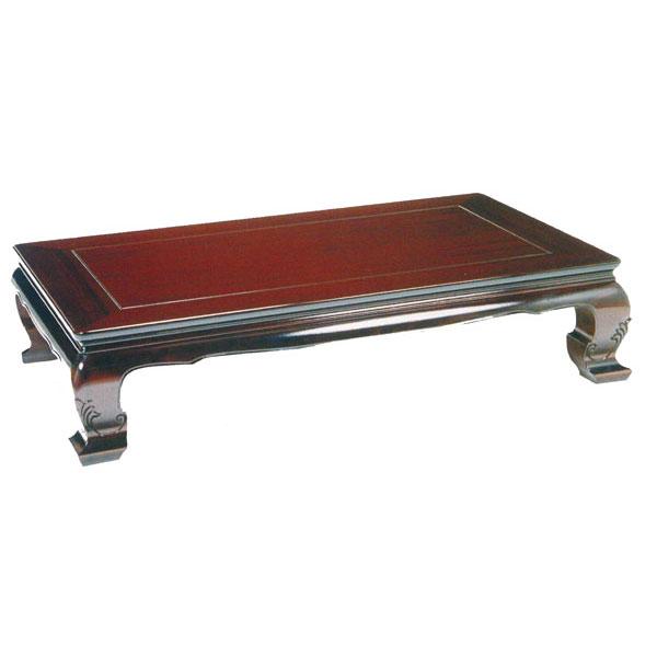 【人気商品】 テーブル 座卓 180cm幅 固定脚シタンシート 「五條」 国産 送料無料 開梱設置, 中国城 9674442d