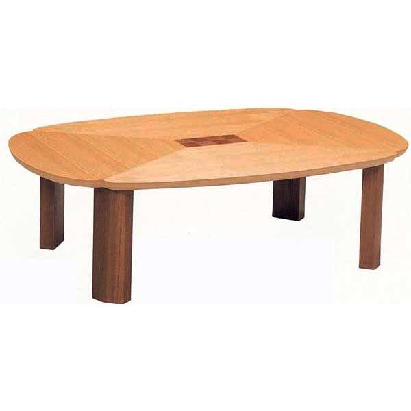 \ポイント増量&お得クーポン/座卓 応接台 テーブル 折れ脚完成品 「グレコ」 120cm幅 国産送料無料