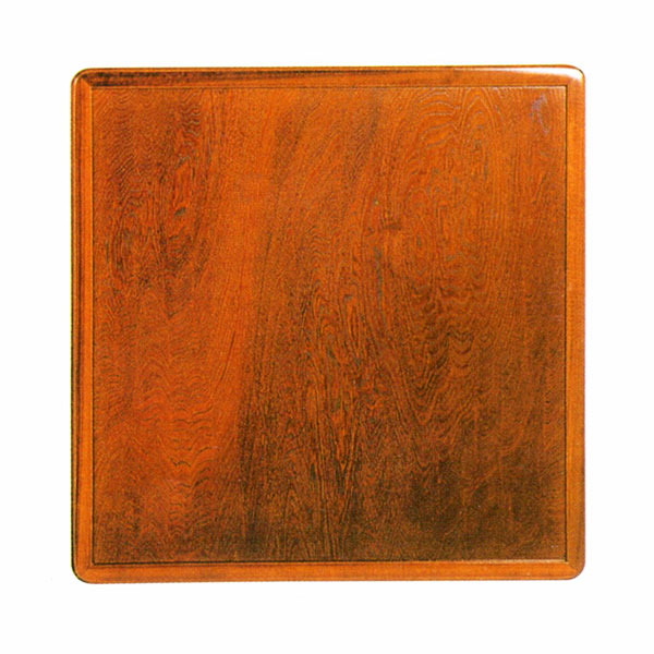 【国産品】 天然木ケヤキ突板硬質ウレタン仕上げ85cm角 天板 『こたつ板両面』送料無料