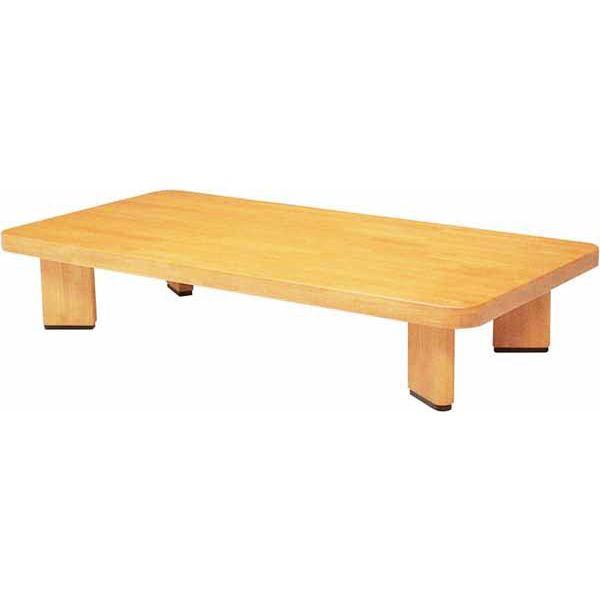 \ポイント増量&お得クーポン/テーブル 座卓 「オリオン角」120cm幅 国産 ラバーウッド無垢材送料無料