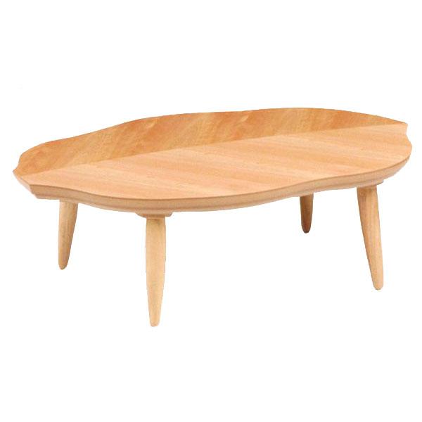 【ポイント増量&お得クーポン】 テーブル 家具調コタツカバザクラ材 「リーフA」150cm幅 国産 送料無料