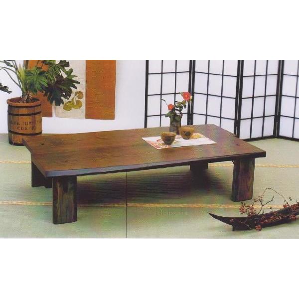 \ポイント増量&お得クーポン/座卓 テーブル 120cm幅国産 折れ脚 2色対応「八代」 送料無料