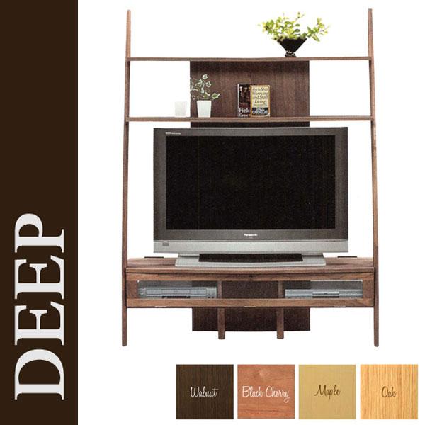 \ポイント増量&お得クーポン/TVボード テレビ台 国産135cm幅 テレビボード「ディープ」
