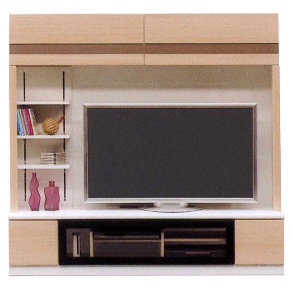 \ポイント増量&お得クーポン/ テレビボード 180cm幅 ハイタイプ TVボード テレビ台国産 2色対応送料無料 開梱設置