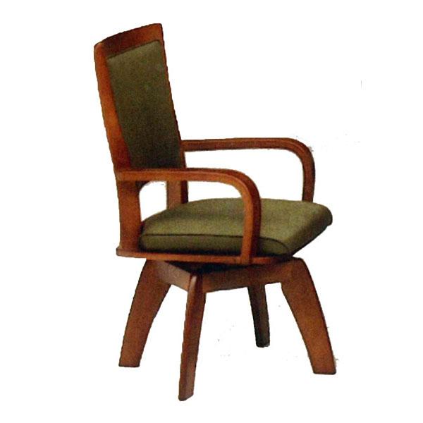 椅子 イス ダイニングチェア肘付き 回転送料無料