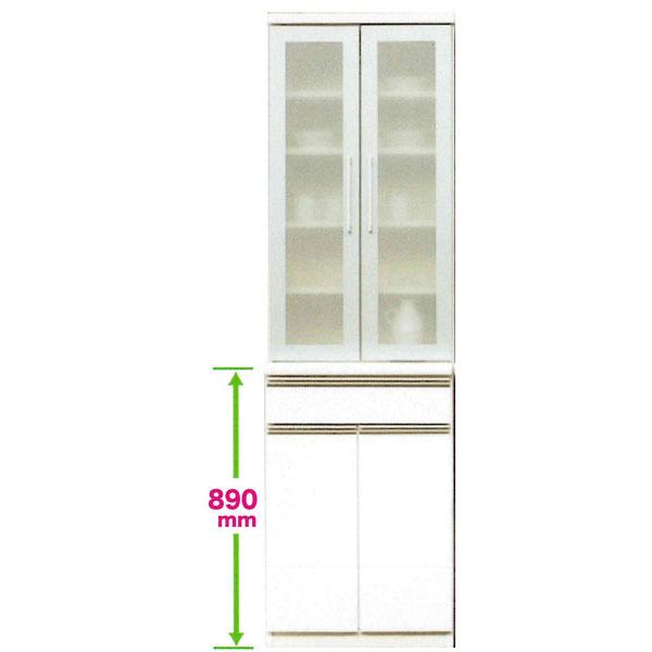食器棚 60cm幅 開き戸国産 開梱設置 送料無料