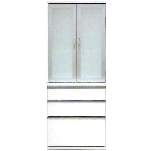食器棚 完成品ダイニングボード 80cm幅国産 開梱設置 送料無料