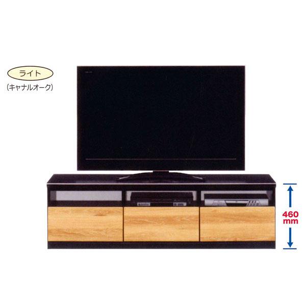 テレビボード 155cm幅 TVボード テレビ台ローボード 国産 2色対応完成品 送料無料