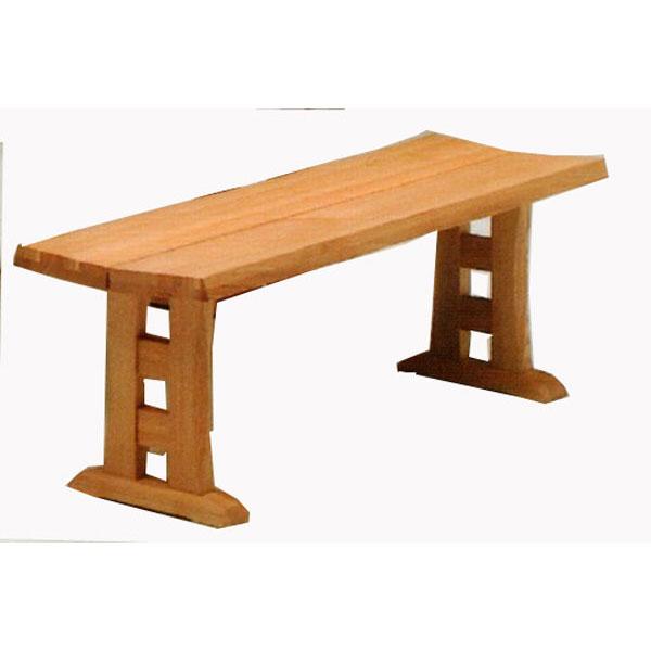 ダイニングチェアー 天然木ベンチ 130cm 椅子送料無料