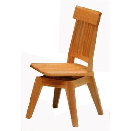 \ポイント増量&お得クーポン/ダイニングチェアー 天然木肘無しチェア 椅子 回転式送料無料
