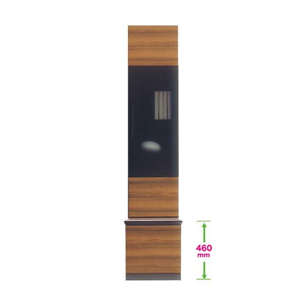 \ポイント増量&お得クーポン/400キャビネット リビングボード リビング収納 飾り棚 本棚 戸棚40cm幅 開戸タイプ 国産 開梱設置・送料無料