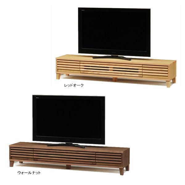 【6/1~6/3 ポイント5倍以上!】 【送料無料】TVボード テレビボード ロータイプ「バジル」 180cm幅 2色対応