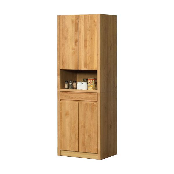 \ポイント増量&お得クーポン/【送料無料】カップボード 食器棚「ジュリア」 66cm幅