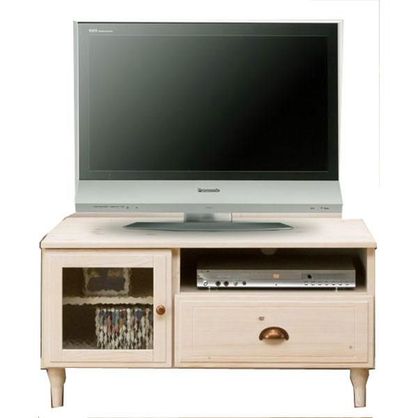 \ポイント増量&お得クーポン/【送料無料】 テレビボード TVボード ロータイプ完成品 90cm幅 「ペリエ」 ホワイト