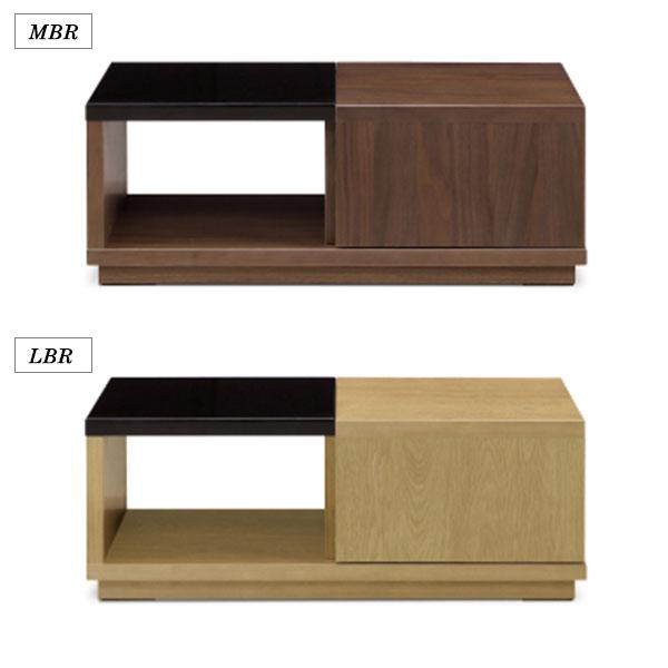 \ポイント増量&お得クーポン/センターテーブルリビングテーブル天然木90cm幅 2色対応 送料無料