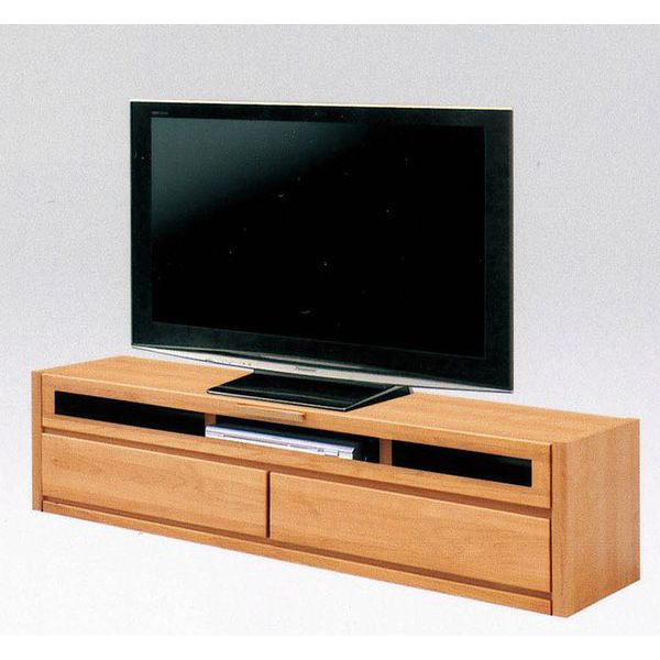 テレビボード TVボード テレビ台完成品 国産 ブラウン ナチュラル 150cm幅「スカーレット」 送料無料