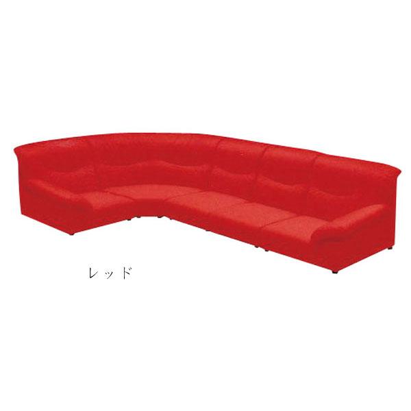 コーナーソファ 完成品合成皮革張り 4色対応 5点セット「ゾロ」 送料無料 開梱設置