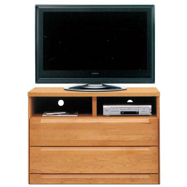 テレビボード 105cm幅 テレビ台AVチェスト 完成品 国産 ブラウン ナチュラル「スカーレット」 送料無料