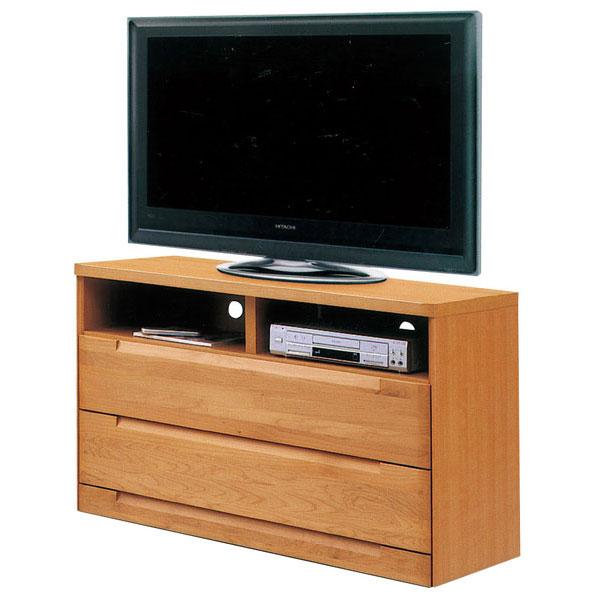 テレビボード 120cm幅 テレビ台AVチェスト 完成品 国産 ブラウン ナチュラル 「スカーレット」 送料無料 開梱設置