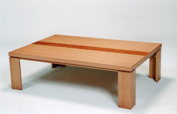 【ポイント増量&お得クーポン】 こたつ コタツ テーブル 家具調折れ脚 150cm幅 「N-クラリス」軽量タイプ 国産 送料無料 代引き不可