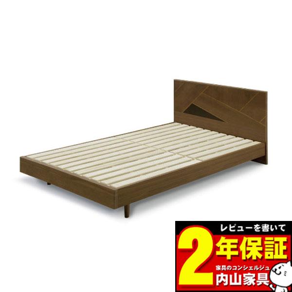ベッドフレームのみ セミダブルベッドフレーム 「アングイス」 幅123.5cm 送料無料