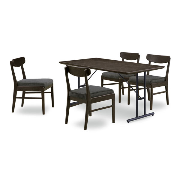 【4/9~ポイント増量&お得クーポン】 送料無料テーブルはオーク突板材ダイニングテーブル5点セット「コール」