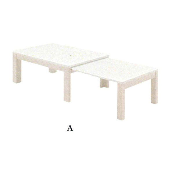 \ポイント増量&お得クーポン/テーブル センターテーブル組み立て品 伸長式 「エコーA」送料無料