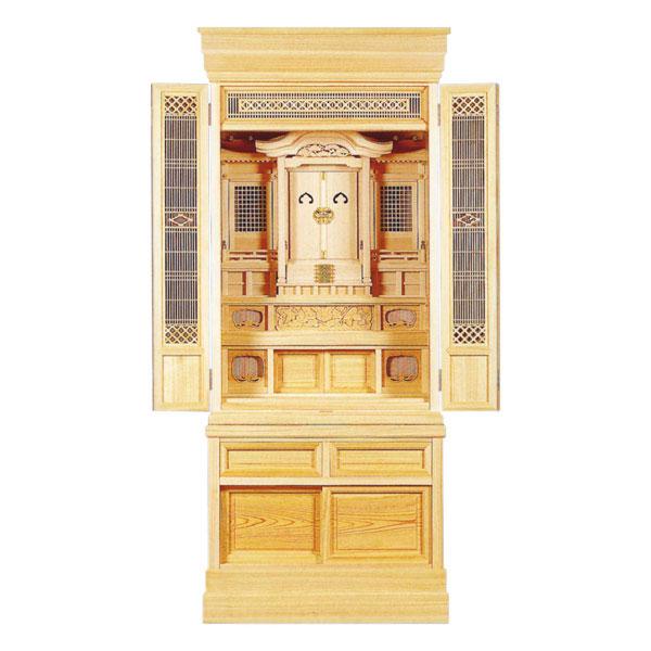 神徒壇 祖霊舎 御霊舎 ヒノキ 高台ひのき22号 (5尺7寸)