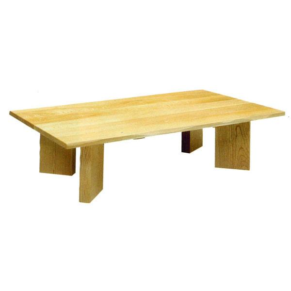 テーブル 長方形 座卓桧無垢 150cm幅国産 送料無料