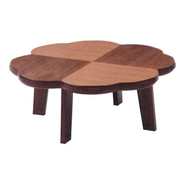 【ポイント増量&お得クーポン】 こたつ コタツ テーブル 家具調100cm幅 「ニュークローバー・ウォールナット」国産 送料無料
