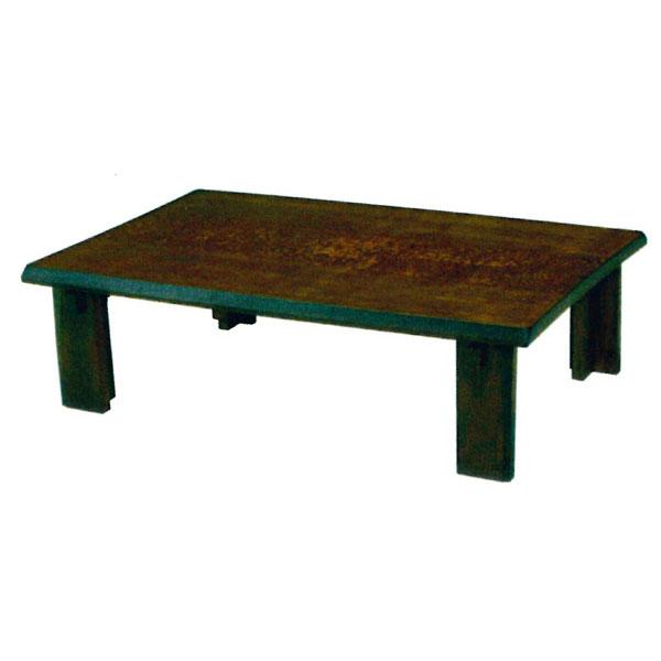 \ポイント増量&お得クーポン/テーブル 長方形 座卓120cm幅 折れ脚「ソルト」 国産 送料無料