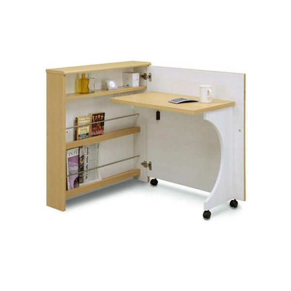 デスク 机 折り畳み収納デスク「畳むんデス」 開梱設置 送料無料