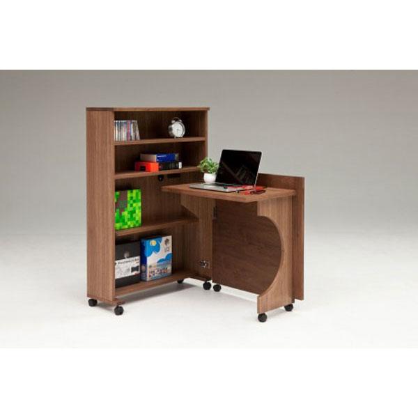 デスク 机 折り畳み収納デスク「畳むんデスグランデ」 開梱設置 送料無料