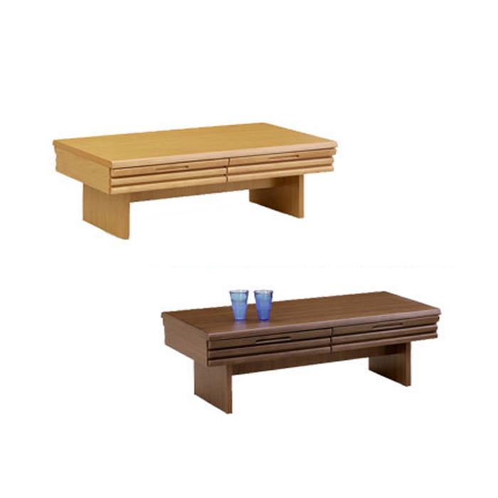 【送料無料】テーブル センターテーブル ロコス ローテーブル 引出し ミニテーブル 105cm 送料無料 100cm 幅105 幅100 机 リビング 木製 table シンプル 北欧 ナチュラル ブラウン 100テーブル sp10