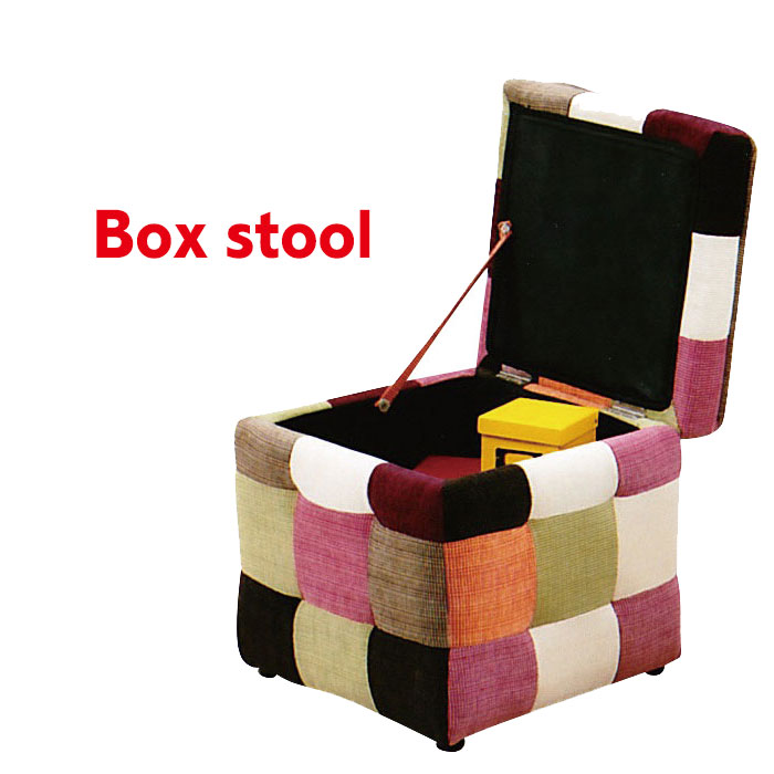 Stool Width 42 Candy Stool Box Stool Chair Stool Storage Stool Sofa Chair  Hanging Chair Solo Sofa Storage Box Ottoman Fabric